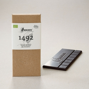 "Bean to bar Schokolade ""1492"""