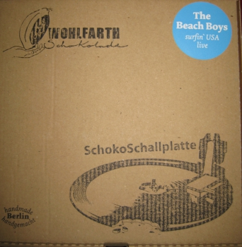 SchokoSchallplatte -The Beach Boys